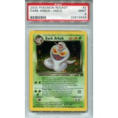 Pokemon Team Rocket Dark Arbok 2/82 PSA 9