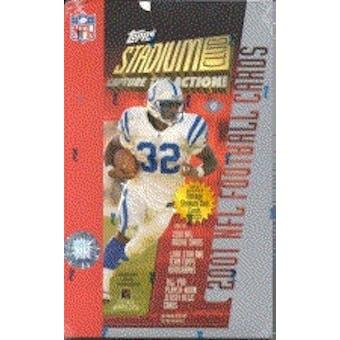 2001 Topps Stadium Club Football Hobby Box