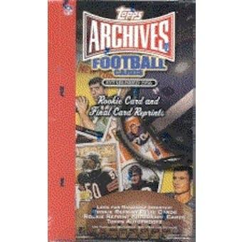 2001 Topps Archives Football Hobby Box