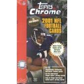 2001 Topps Chrome Football Hobby Box