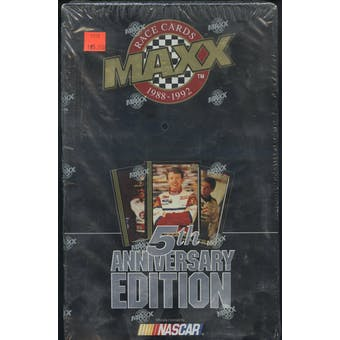 1992 J.R. Maxx Inc. Maxx 5th Anniversary Edition Racing Hobby Box - Black Box