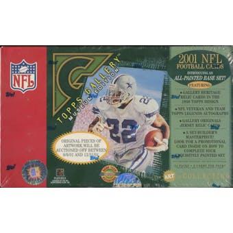 2001 Topps Gallery Football Hobby Box