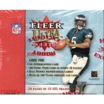 2001 Fleer Ultra Football Hobby Box