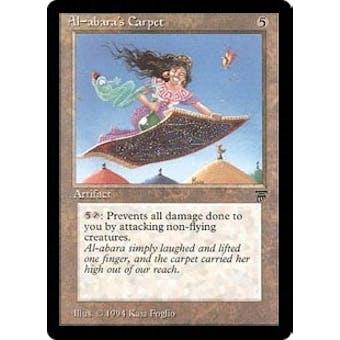 Magic the Gathering Legends Single Al-abara's Carpet - SLIGHT PLAY (SP) Sick Deal Pricing
