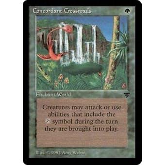 Magic the Gathering Legends Single Concordant Crossroads - SLIGHT PLAY (SP)