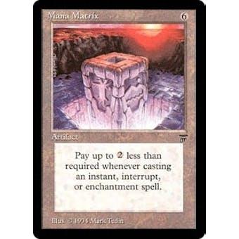 Magic the Gathering Legends Single Mana Matrix - NEAR MINT  (NM)
