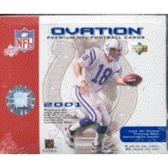 2001 Upper Deck Ovation Football Hobby Box
