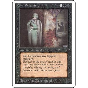 Magic the Gathering Unlimited Single Royal Assassin - MODERATE PLAY (MP) Sick Deal Pricing