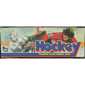 1975/76 Topps Hockey Wax Box