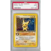 Pokemon Neo Genesis Pichu 12/111 PSA 9