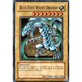 Yu-Gi-Oh Dark Beginning Single Blue-Eyes White Dragon Ultra Rare (DB1-EN098)