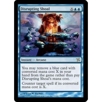 Magic the Gathering Betrayers of Kami Single Disrupting Shoal - NEAR MINT (NM)
