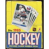 1985/86 Topps Hockey Wax Box