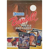 1987 Donruss Baseball Wax Box
