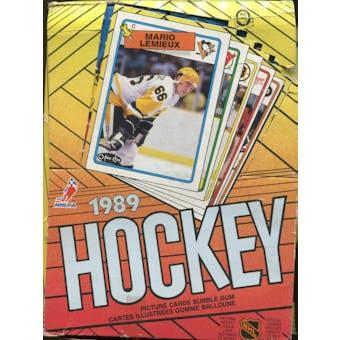 1988/89 O-Pee-Chee Hockey Wax Box
