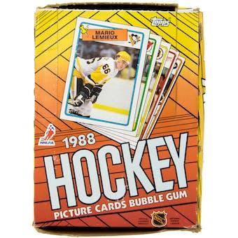1988/89 Topps Hockey Wax Box