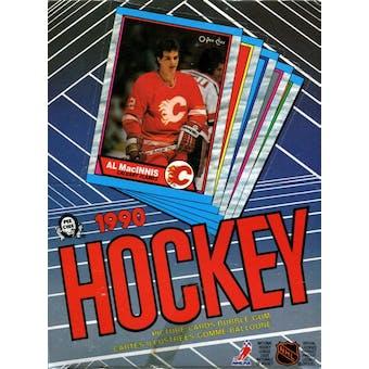 1989/90 O-Pee-Chee Hockey Wax Box