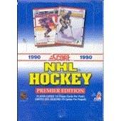 1990/91 Score Canadian Hockey Wax Box (Reed Buy)