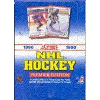 1990/91 Score Canadian Hockey Wax Box