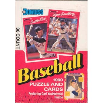 1990 Donruss Baseball Canadian Wax Box