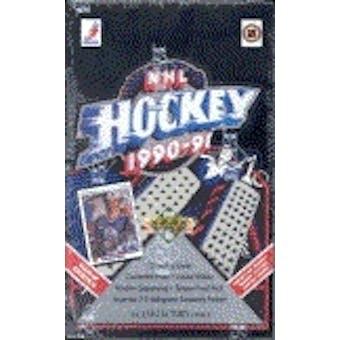 1990/91 Upper Deck English Hi # Hockey Hobby Box