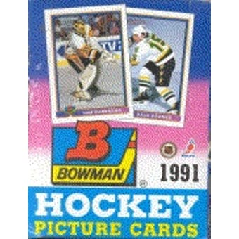 1991/92 Bowman Hockey Wax Box