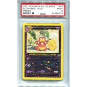 Pokemon Southern Islands Slowking 14/18 PSA 9