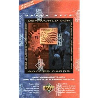 1994 Upper Deck World Cup English/Spanish Soccer Box