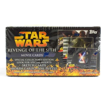 Star Wars Revenge of the Sith Hobby Box (2005 Topps)