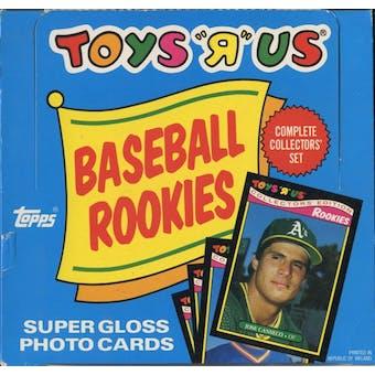1987 Toys 'R' Us Rookies Baseball Factory Set Box (Barry Bonds!)