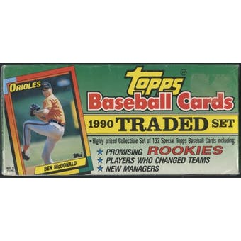 1990 Topps Traded & Rookies Baseball Rare Retail Set