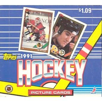 1991/92 Topps Hockey Cello Box