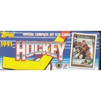 1991/92 Topps Hockey Factory Set