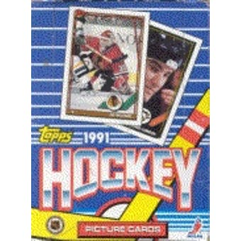 1991/92 Topps Hockey Wax Box