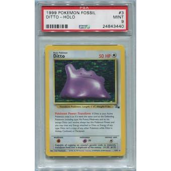 Pokemon Fossil Ditto 3/62 PSA 9