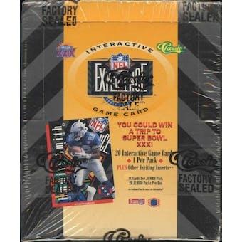1994 Classic NFL Experience Football Jumbo Box
