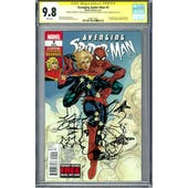 Avenging Spider-Man #9 CGC 9.8 (W) Signed By Rachel Dodson & Sketch By Terry Dodson *2489772002*