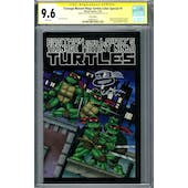 Teenage Mutant Ninja Turtles Color Special #1 CGC 9.6 (W) Signed By Kevin Eastman *20496924010*