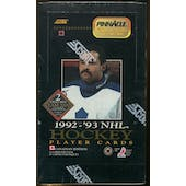 1992/93 Pinnacle Hockey Hobby Super Pack Box