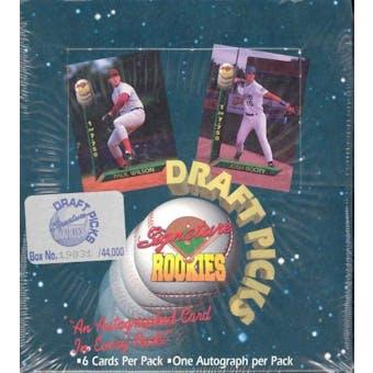 1994 Signature Rookies Baseball Draft Picks 18 Pack Box