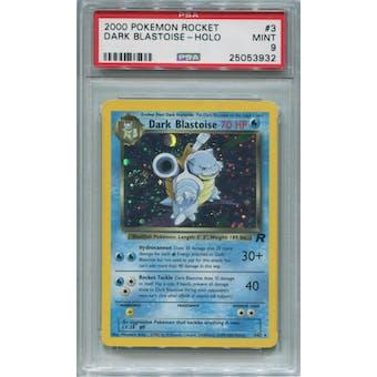 Pokemon Team Rocket Dark Blastoise 3/82 PSA 9