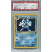 Pokemon Base Set 2 Single Poliwrath 15/130 PSA 8