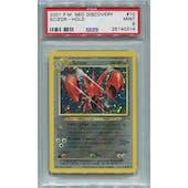 Pokemon Neo Discovery Scizor 10/75 PSA 9