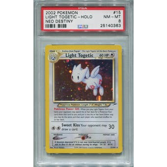 Pokemon Neo Destiny Light Togetic 15/105 PSA 8