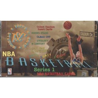 1994/95 Topps Stadium Club Series 1 Basketball Jumbo Box