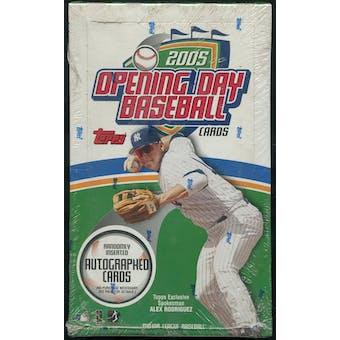 2005 Topps Opening Day Baseball Box