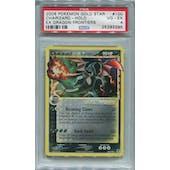 Pokemon EX Dragon Frontiers Charizard Gold Star 100/101 PSA 4