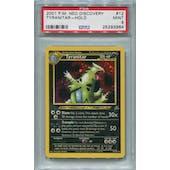 Pokemon Neo Discovery Tyranitar 12/75 PSA 9