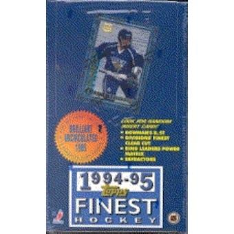 1994/95 Topps Finest Hockey Hobby Box