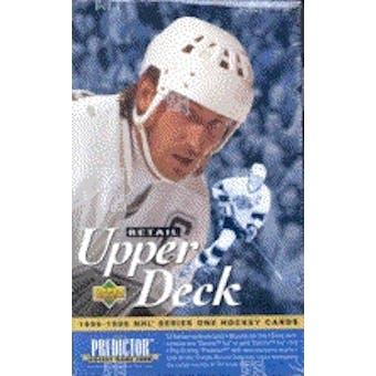 1995/96 Upper Deck Series 1 Hockey Hobby Box